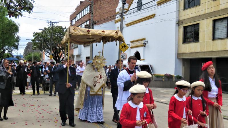 Procesión del Santísimo Cristo Rey